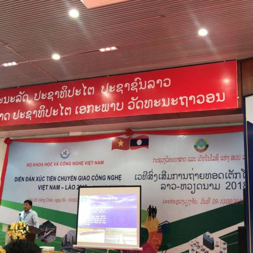 LGE participated in Techconnect Vietnam-Laos 2018